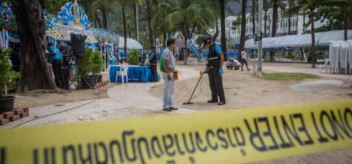 Thailand: Series of fatal bombings kill 4, injure 35