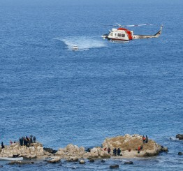 Turkish Coast Guard pulls 132 from dinghies in Aegean
