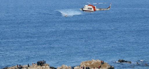 Turkish Coast Guard pulls 132 from dinghies in Aegean
