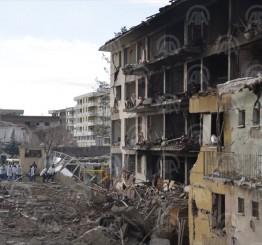 Turkey: 5 killed in bomb attack on police HQ in Diyarbakir