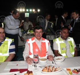 Turkish island gathers Muslims and Christians for iftar