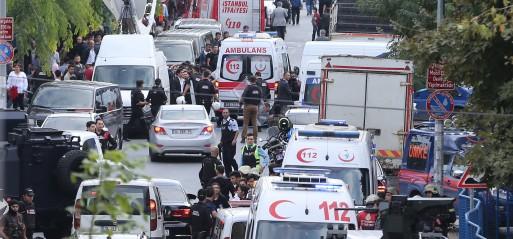 Turkey: Blast near police station in Istanbul injures 10 people