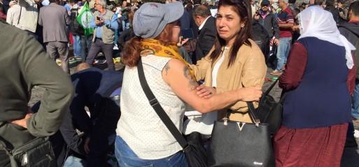 Turkey: Dozens of casualties in blasts at Ankara train station