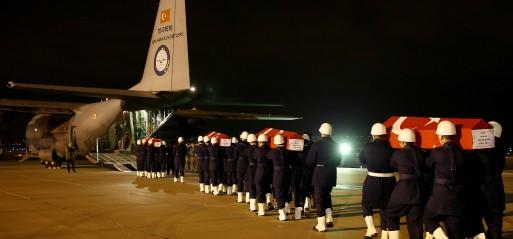 Turkey: 14 soldiers killed in central Turkey terror attack