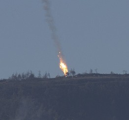 Turkish jets shot down 'Russian type SU-24 warplane'