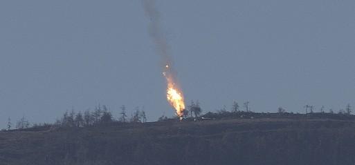 Turkish jets shot down 'Russian type SU-24 warplane'
