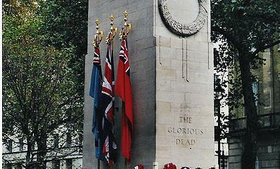 UK stops to mark Armistice Day