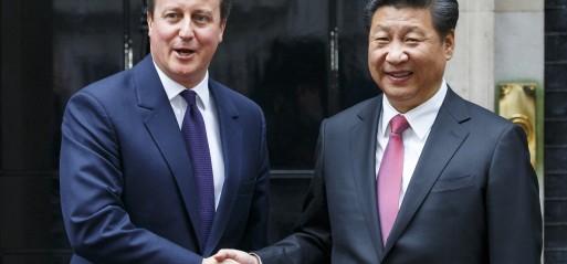 UK not ignoring China's human rights record