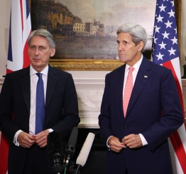 US, UK say Assad's departure needed but not urgent