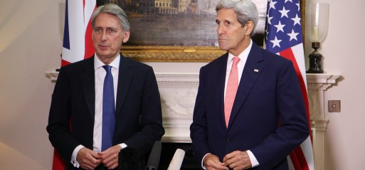 US, UK say Assad's departure needed but not urgent