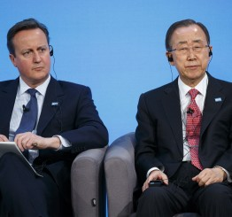UK: UN chief hails $10bn in Syria donor pledges
