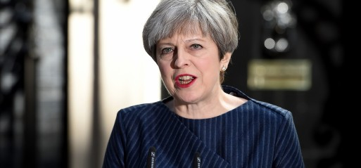 UK: PM May announced to hold snap general election in June