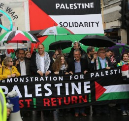 UK: Thousands march for Palestine in London