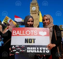 UK Egyptians mark 2-year anniversary of Cairo killings