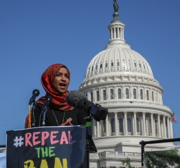 US rights groups highlight effects of Muslim Ban