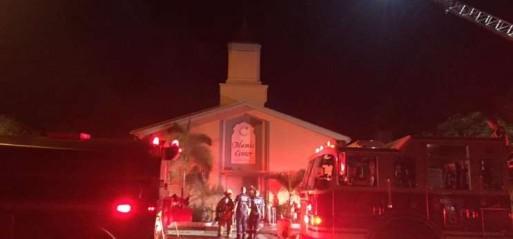 US: Florida mosque set ablaze on 9/11 anniversary