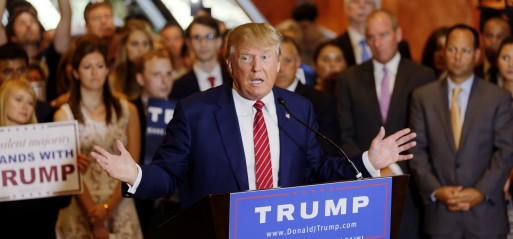 US House Speaker endorses Donald Trump