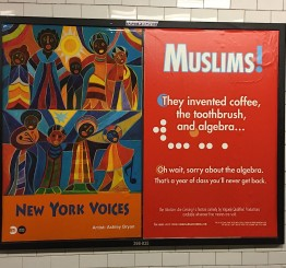 US: Satirical Muslim ads go up in New York's subway stations