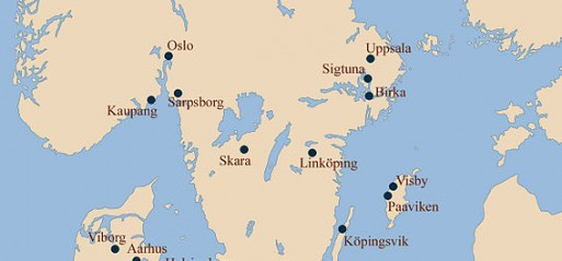 Sweden: 'Allah' & 'Ali' patterns in burial costumes of Vikings discovered in Sweden