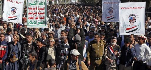 Yemen Houthis claim drone attacks on 'sensitive sites' Saudi Arabia