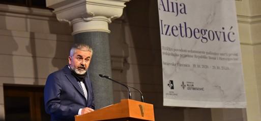 Alija Izetbegović commemorated on death anniversary