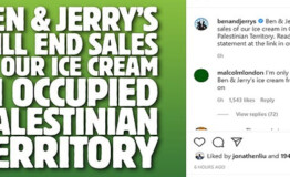 Israel PM threatens Unilever CEO with 'severe consequences' over Ben & Jerry's boycott