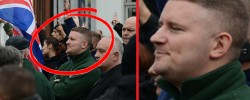 Britain First leader convicted of terror offence