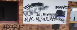 Islamic institute vandalised with Islamophobic graffiti in France