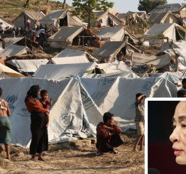 Suu Kyi condemned for refusing to end ethnic cleansing of Rohingya Muslims in Myanmar