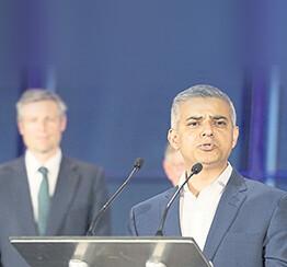 Khan, Mayor for all Londoners