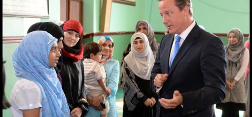 Cameron insists he condemns all forms of terrorism