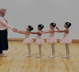 In conversation with Maisie Alexandra Byers, co-founder of the world's first Muslim ballet school