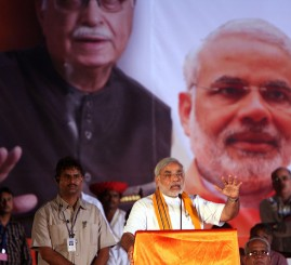 BJP exploits tested divisive 'Hindu card' for re-elections