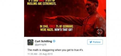 US baseball analyst suspended for anti-Islam tweet