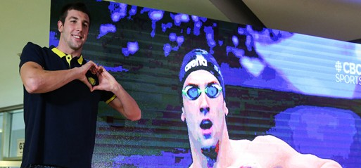 Turkey's Emre Sakçi breaks two swimming European records