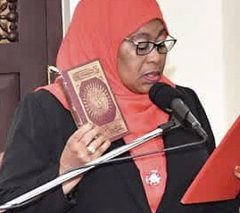 Tanzania's Samia Suluhu Hassan, Africa's first hijabi President