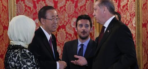 Turkey: UN's Ban Ki-moon urges 'fixing' humanitarian gap
