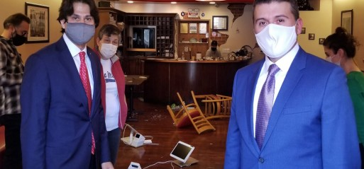 Armenian men attack Turkish Café in Beverly Hills